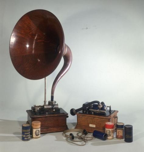 Fonografi a cilindro Edison