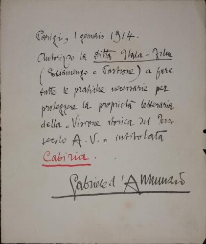 CABIRIA (Giovanni Pastrone, 1914)