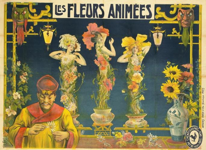 Les fleurs animées