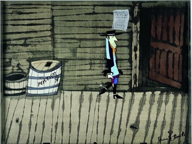 """""""West and Soda"""" di Bruno Bozzetto, Italia, 1965"""